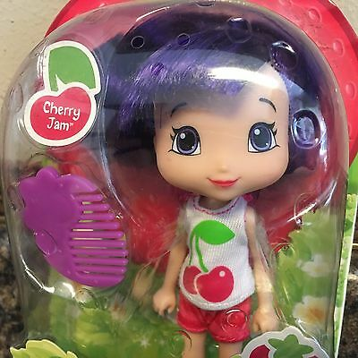 Strawberry Shortcake CHERRY JAM ~ Berry Best Friends With Comb ~ 2015 TBD ~ RARE