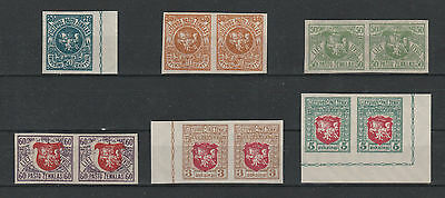 Lithuania Litauen Lituanie imperforated , MNH/** mint never hinged.
