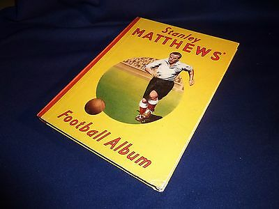 1949 Stanley Matthews Football Album Vintage Old Collectable Rare Detailed Vgc