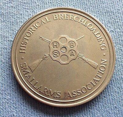 South London Rifle Club & Historical Breechloading Smallarms Association Medal