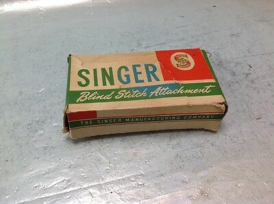 Vintage Boxed Singer Blind Stitch Attachment No 86649 Sewing Machine Part