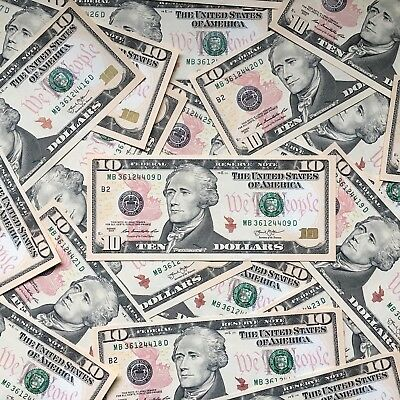 $10 Bill - Federal Reserve Note - FAST SHIPPING!