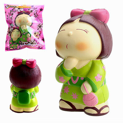 Vlampo AppleBlossoms Squishy Japan Kimono Girl Slow Rising Original Packaging