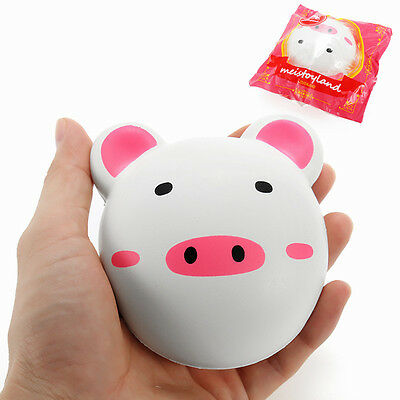 Meistoyland Squishy Piggy Bun 9cm Pig Slow Rising With Packaging Collection Gift