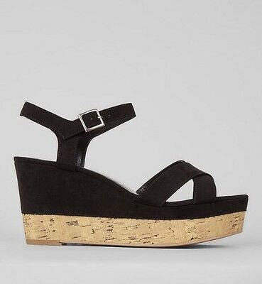 New Look Wedge Shoes Sandals Heels Size 6 New Summer Strappy
