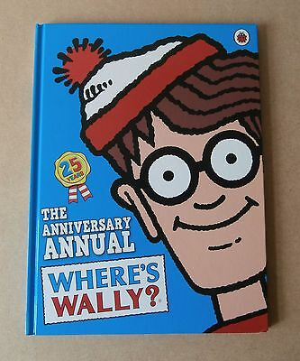Where's Wally -The 25 Years Anniversary Annual - VG Condition
