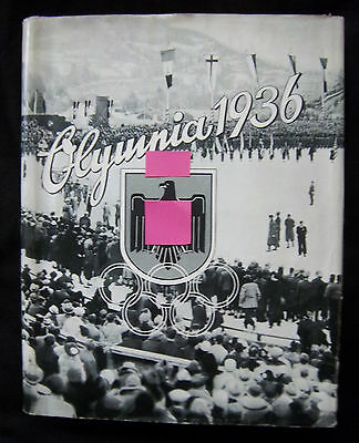 Orig.Sticker Album Olympic Games G.PARTENKIRCHEN 1936 +Olympic History /Complete