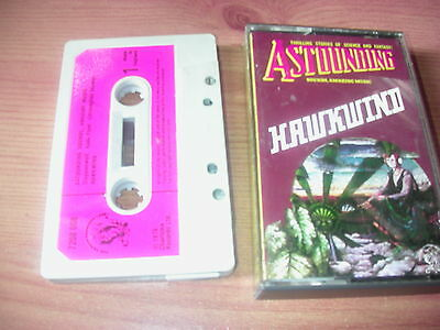 Hawkwind    Astounding Sounds Amazing Music   Paper Labels  Cassette