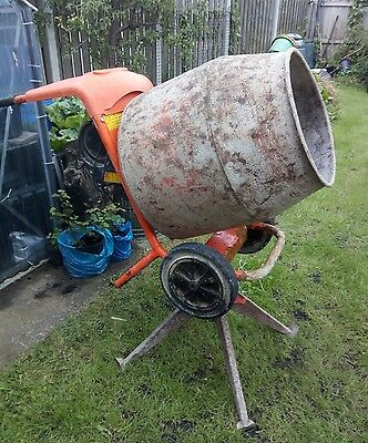 Belle Minimix 150 cement mixer 240V & stand, VGC, Full working condition!