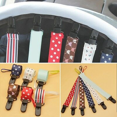Pop Baby Pacifier Strap Toddler Boys Girls Dummy Leash Soother Nipple Chain Clip