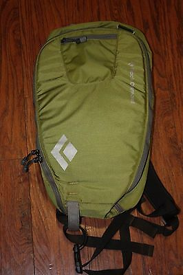 Black Diamond Bandit Backpack Green Ava Lung Compatible Backcountry- EXCELLENT