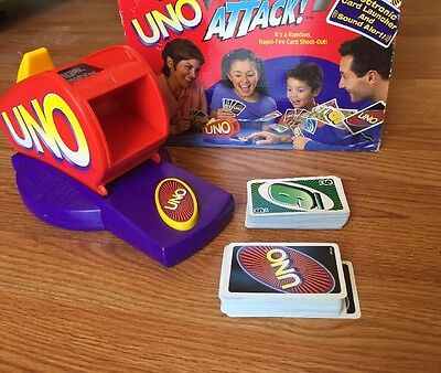 Uno Attack Game With Cards