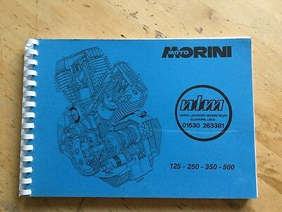 Moto Morini workshop manual