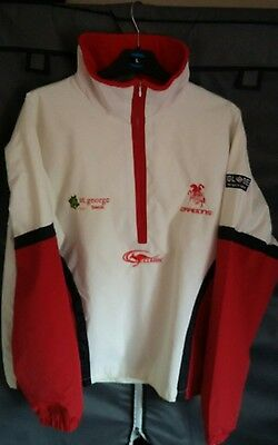 St george illawara dragons rugby league training shirt / jacket classic small