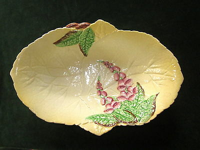 VINTAGE CARLTON WARE Australian Design Foxgloves Made in England Yellow w/ Pink
