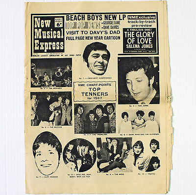 NME New Musical Express Newspaper - No. 1094 December 30 1967
