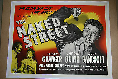 The Naked Street - Linen backed 30 x 40 inch poster