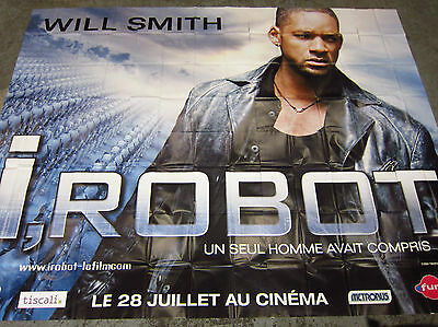 I Robot - Will Smith - large 10 x 13 ft Billboard 3 x 4 m 8 panel poster
