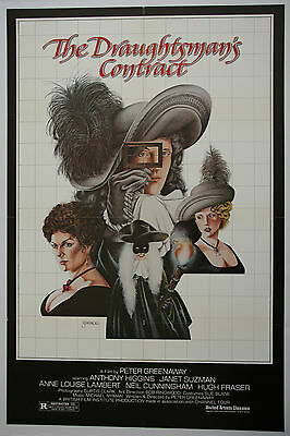 Peter Greenaway - The Draughtsman's Contract - Linen backed poster