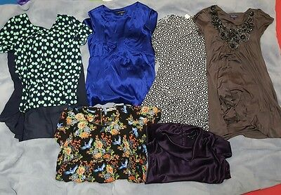 Lot of Women Top Shirt Blouse Dress Spring Summer Clothes Size 2 XS Extra Small