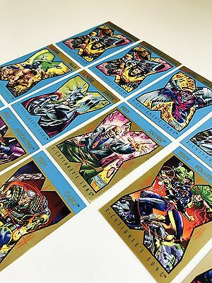 X-Men 1992 Trading Cards - Lot of 13