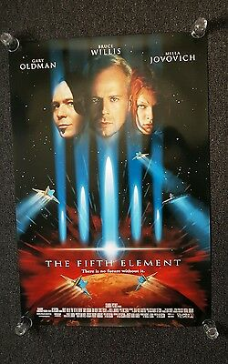 The fifth element Movie poster us one sheet genuine original