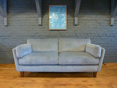 3 str Velvet Piper Sofa danish retro 60s, contemporary mid-century modern style