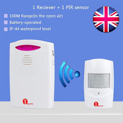 Wireless Outdoor Driveway Alarm Alert System Chime Motion Sensor Home Security