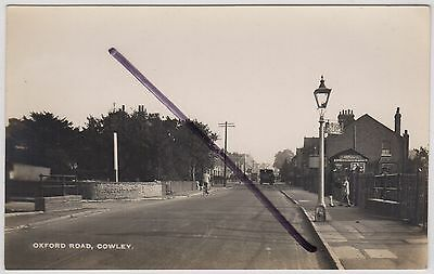 Cowley, Oxfordshire: Social History: Oxford Road Real Photo Postcard