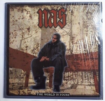 "Nas - The World Is Yours 12"" Vinyl US Import 1994"