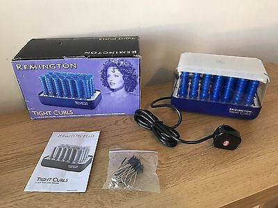 Vintage Remington Tight Curls 21 Wax Core Hair Rollers- New In Box Never Used