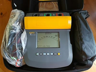 Fluke 1555 10Kv Insulation Tester.  Made In Usa And Manufactured In 2016. New
