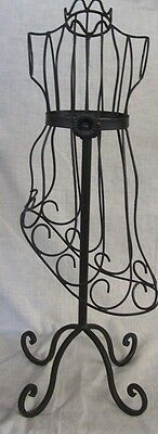 """Store Display Fixtures NEW BODY FORM JEWELRY DISPLAY 23"""" tall Black Finish"""