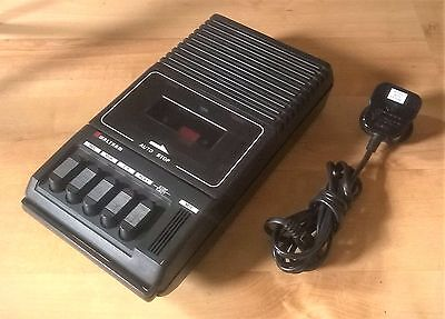 Vintage WALTHAM Portable W167 Audio Cassette Tape Player Battery Mains NO RECORD