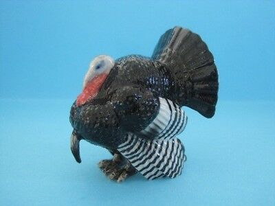 Retired Northern Rose  Wild Black Turkey Rare To Find *mint Condition*