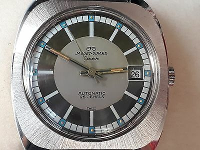 JG Jaquet-Girard Genève Automatic - NOS Swiss Made Watch