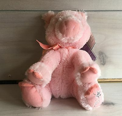 A30 Russ Shining Stars Pig Plush! 12 Inch Stuffed Lovey Toy Sealed Code