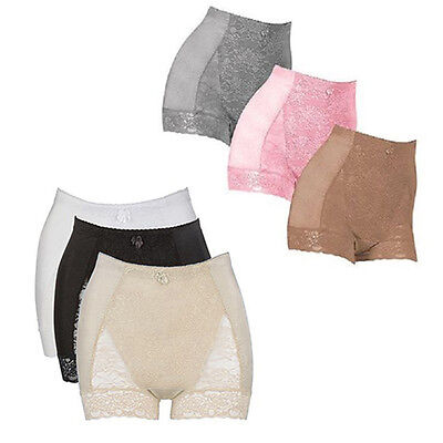 Rhonda Shear 3-pack Pin Up Tummy Control Panty Set - Sizes From S to 4XL