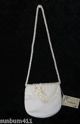 Bridal Purse, From Erica Koester Wedding Accessories in Hollywood, Pearls, Lace