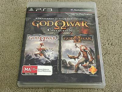 God Of War Collection (1 And 2) PS3 Game