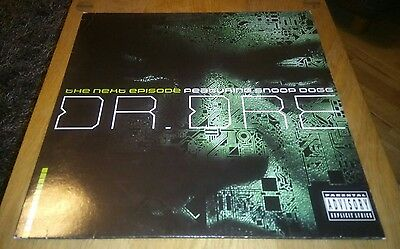 """Dr Dre The Next Episode Featuring Snoop Dog 12"""" Vinyl Single Record VG-VG"""