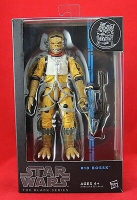 """Bossk #10 Star Wars the Black Series 6"""" Inch Action Figure Hasbro Blue Line New"""