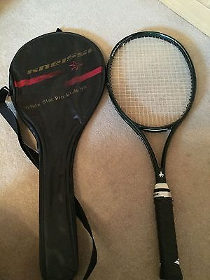 Kneissl White Star Pro Style tennis racket 4 5/8 buy one get one free