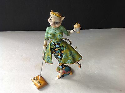 """Collectible ALLEY Cats Figurine LUSHUS CAT Electro 7.5"""" by M. Le Van   RETIRED"""