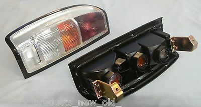 Nissan Navara D22 Clear Lens Rear Brake Tail Lights Pair Left Right Ds051-Clear