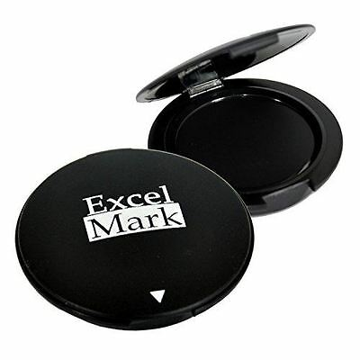 "NEW ExcelMark Black Inkless Thumbprint Pad | 1-1/2"" Diameter Fingerprint Pad"