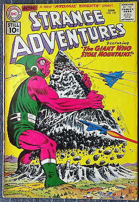 Strange Adventures #129 - The Giant Who Stole Mountains! Atomic Knights!