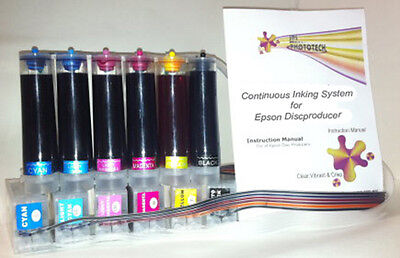 Epson Discproducer PP-100 CISS Continuous Ink Supply System