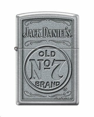 Zippo 4388, Jack Daniel's Tennessee Whiskey, Old No. 7, Street Chrome Lighter