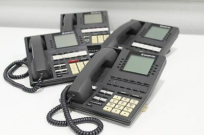 Lot of 4 InterTel 550.4500 Executive Digital LCD Office Multiline Business Phone